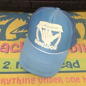 "HAWAII HEADWARE ""Hang loose"" Trucker SnapBack Cap"